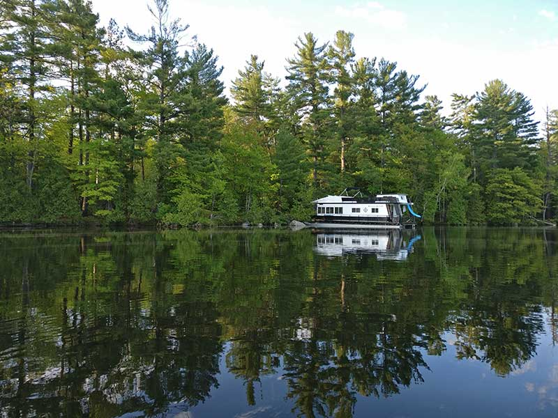Kawarthas houseboating trip report may june 2017