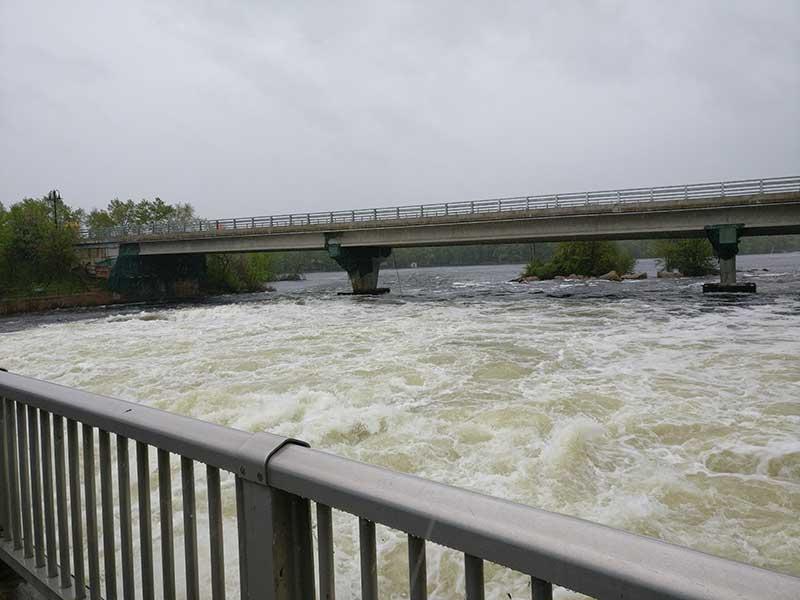 Buckhorn dam, May 2017