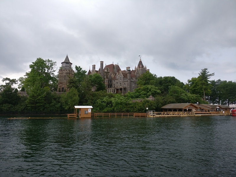 Boldt Castle Flooding