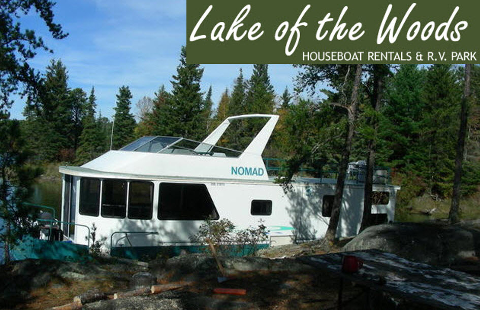Lake of Woods Houseboat Rentals