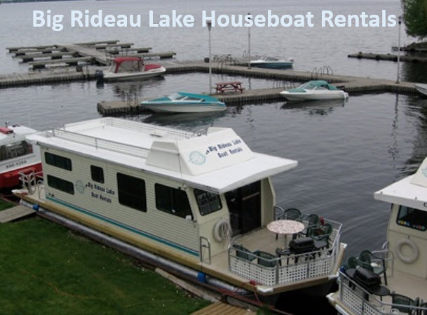 Big Rideau Lake Houseboat Rentals