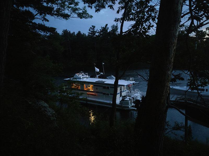 1000 Islands houseboating July 2017